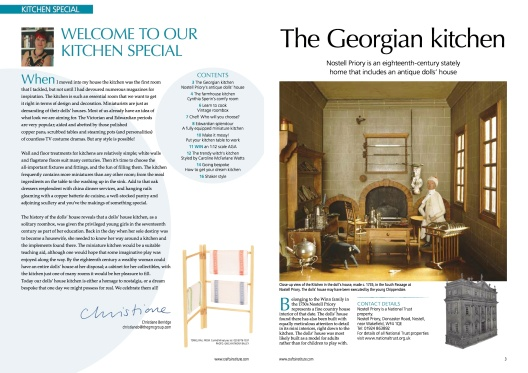 DH186 2-3 SUPPLEMENT Welcome The Georgian kitchen